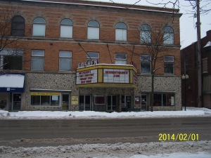 Former Jefferson Theater in downtown Goshen.